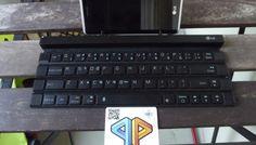 LG Rolly - die zusammenrollbare Bluetooth-Tastatur