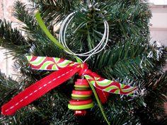 Button Drop Ornaments