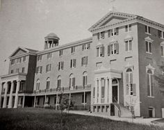 Mount de Sales Academy, school for girls, Catonsville, Md. Photograph taken, pre-c.1882. The school was founded in c.1852.