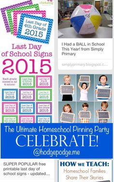 Celebrate at The Ultimate Homeschool Pinning Party