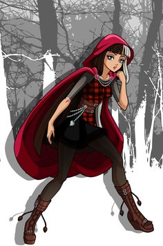 Ever After High by on DeviantArt Ever After High, Lewis Carroll, Cerise Hood, Book Day Costumes, Costume Ideas, Red Ridding Hood, Best Icons, Luna Lovegood, Moon Goddess