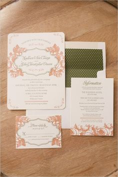 Elegant wedding invitations. Captured By: Sunny 16 Photography ---> http://www.weddingchicks.com/2014/05/29/vintage-reception-with-steal-worthy-ideas/