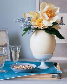Oversize Egg Vase