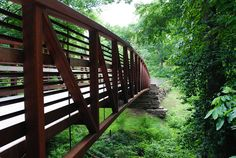 Crystal Bridges Trail Bridge, Bentonville, AR.