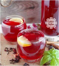 HİBİSKUS ŞERBETİ TARİFİ Malzemeler 2 lt su (10 su bardağı) 2 yemek kaşığı dolusu kuru hibiskus
