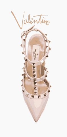 Shoes for momma · Fashion prints and posters from A Pinch of Style Scarpe  Valentino 3e0df2bbd21