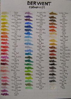 Цветные карандаши. Часть 1: Дервент и Марко: mercul