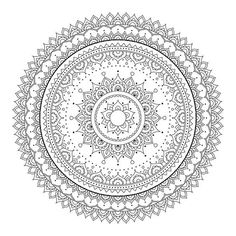 anti-stress coloring page for Mandala Art, Mandala Painting, Mandala Drawing, Dot Painting, Mandala Design, Pattern Coloring Pages, Free Adult Coloring Pages, Mandala Coloring Pages, Colouring Pages