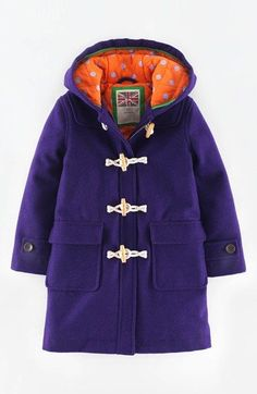 Nice Clothes For Kids Mini Boden 'Funky' Hooded Duffle Coat (Toddler Girls, Little Girls & Big Girls) | Nordstrom Check more at http://24shopping.tk/fashion-clothes/clothes-for-kids-mini-boden-funky-hooded-duffle-coat-toddler-girls-little-girls-big-girls-nordstrom/