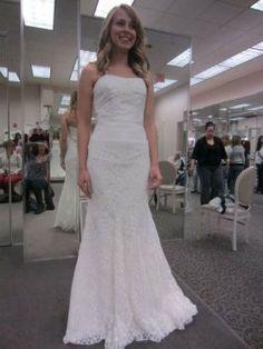 David's Bridal Galina Wedding Dress
