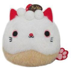 Kawaii Plush, Kawaii Cat, Cat Cafe, Mode Shop, Art Poses, Strawberry Shortcake, Plushies, Neko, Cuddling