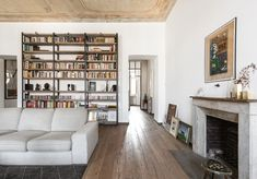 Italy Images, Turin, Bookcase, Villa, Shelves, Interior, Design, Home Decor, Houses