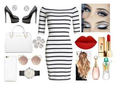 """Work Wednesday"" by rownak on Polyvore featuring Superdry, Michael Kors, MANGO, Yves Saint Laurent and Christian Dior"