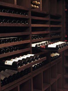 by Degre 12 Custom Wine Cellars (holds a mere 2200 bottles!)