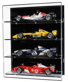 Acrylic Wall Display Case for Four Scale Model Formula One Cars – Car Collection Model Display Cases, Wall Mounted Display Case, Wall Display Cabinet, Glass Display Case, Display Cabinets, Hidden Gun Cabinets, Glass Cabinet Doors, Steel Wall, First Car
