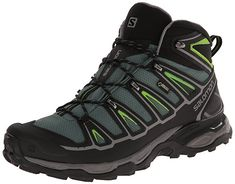 the latest bbf1a 3a56f Amazon.com   Salomon Men s X Ultra Mid 2 GTX Multifunctional Hiking Boot,  Black