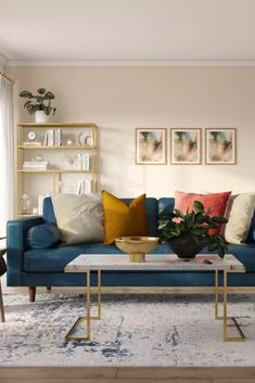 View this Modern living room design from Havenly interior designer Lena. Shop products and even get started designing your own space. Design Your Own, Living Room Designs, Love Seat, Couch, Interior Design, Modern, Inspiration, Furniture, Home Decor