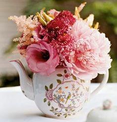 New Ideas Vintage Tea Party Bridal Shower Decorations Mason Jars