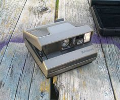Vintage Polaroid Spectra System Instant Camera with hard case 1980s by VintageCDChyld on Etsy