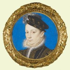 Charles IX, King of France. Son of Henri II and Catherine de Medici. He died at age 23. He was sickly, and deteriorated quickly after having to witness the massacre of Huguenots.