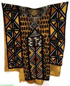 Bamana Tunic / Boubou Mudcloth Handwoven Mali by africadirect, $99.00