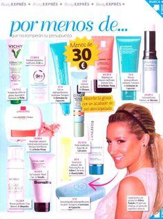 Por menos de 30€ la revista Quore propone algunos de nuestras cremas de Purexpert.