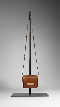 Bridle Leather Crossbody Bag | Burberry