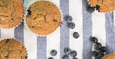 34 Healthy Breakfasts for Mornings on the Run: Whole-Wheat Banana Blueberry Flax Muffins