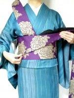 半幅帯の結び方!着物に合う、お太鼓より簡単な「角だし」 [着物・着付け] All About Origami Heart, Sash Belts, Ball Gown Dresses, Yukata, Japanese Kimono, Kimono Fashion, Geisha, Yuri, Pattern Design