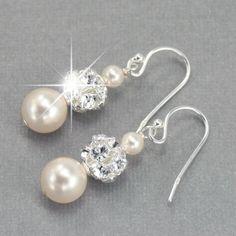 Roxy's Jewelry - Pearl Drop Wedding Earrings, $29.00 (http://www.roxysjewelry.com/pearl-drop-wedding-earrings/)