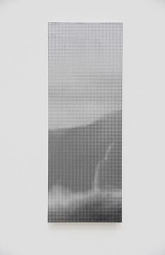 Ryo Kikuchi, Void #5, acrylic on panel, 80x30x2.4cm, 2015