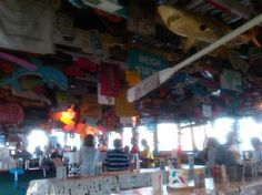The Crab Pot, Surf City, NC. Fun place to eat!
