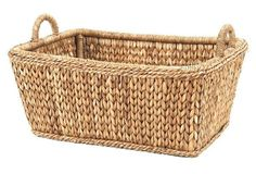 "Sweater-Weave Euro Market Basket, 24.5"" Mainly Baskets"