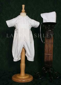 Laura Ashley Cotton Baptism and Christening Coverall