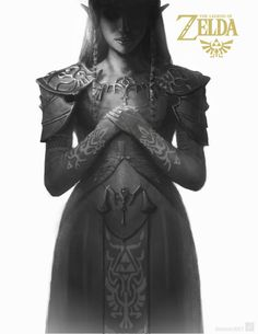 Zelda from Twilight Princess. I hope you guys liked this mini art set I created. The Legend Of Zelda, Bioshock, Nintendo 3ds, Resident Evil, Video Game Art, Video Games, Cosplay, Fanart, Zelda Twilight Princess