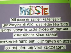 Continu verbeteren | Missie van de groep | Klasse.pro School Quotes, Teacher Quotes, Educational Leadership, Educational Technology, Learning Quotes, Education Quotes, Positive Behavior Support, High School Counseling, Visible Learning