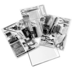 Anna Griffin® Creativity Clear Stamp Set at HSN.com.