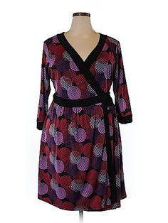 b6f5e47a796ff Lucie Lu Casual Dress Size 2X (Plus) Plus Clothing