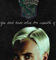 Draco Malfoy, Slytherin