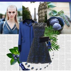 """""""Feeling Blue"""" by veroniqueleon on Polyvore"""