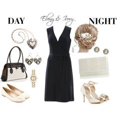 """The Perfect LBD Mystery Case Challenge Ebony & Ivory"" by mymegastyle on Polyvore"