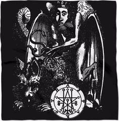 Astaroth Goetia Demon Altar Banner
