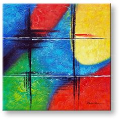 Maľovaný obraz na stenu ABSTRAKT NU0008E1 (maľované obrazy – NUBIO -)
