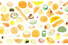 luckypeach:A guide to thirty-six dumplings from all over China.Illustration by Monica Ramos.Ordered a disgusting amount of pan-fried dumplings after working on this. Pan Fried Dumplings, Chinese Dumplings, Peach Dumplings, Lucky Peach, Chicken Spring Rolls, Momofuku, Food Articles, Chinese Restaurant, Bon Appetit