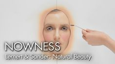 """Watch 365 layers of makeup applied in one day to supermodel Hannelore Knuts, in this short film """"Natural Beauty"""" by Lernert & Sander, from NOWNESS. Emo Makeup, Cool Animations, Celebrity Beauty, Organic Skin Care, Master Class, Installation Art, Cool Watches, Short Film, Supermodels"""