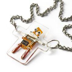 Robot jewelry!