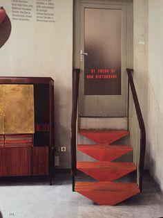 Interior Design – Page 10 – Interior Design Addict Loft Interior Design, Mid-century Interior, Interior Stairs, Interior And Exterior, Loft Interiors, Vintage Interiors, Architecture Details, Interior Architecture, Stair Handrail