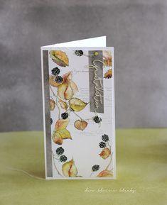 der kleine klecks: Brombeeren.   Designpapier Brombeeren, grüner und grauer Aquarellcardstock  sowie Stanze Gratulation - Alexandra Renke brad vert - Kesi´art
