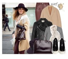 """""""It's a Wrap! Fun Fall Scarf"""" by enola123 ❤ liked on Polyvore featuring Parisian, Brunello Cucinelli, IRO, Ralph Lauren Black Label, Stella & Dot, Gladys Tamez Millinery, Louis Vuitton and STELLA McCARTNEY"""