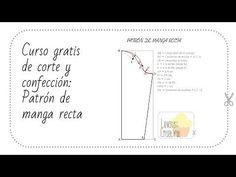 2 Metodos para hacer patrón manga básica - YouTube